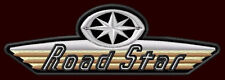 "YAMAHA ROAD STAR EMBROIDERED PATCH ~5-1/4"" x 1-3/4"" XV 1600 A MOTORCYCLE CRUISER"
