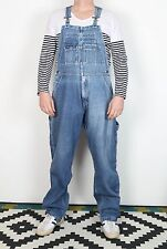 Dungarees Medium Blue Denim Vintage W30 W32 W34 L34 (VCC)