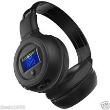 Bluetooth 3.0 Wireless Stereo Headset Headphones With Call Mic Microphone MP3 FM