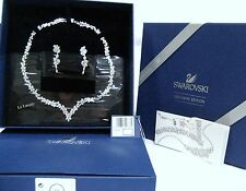 Swarovski Diapason V Set, All-Around V Necklace & Earrings Clear Crystal 5142738