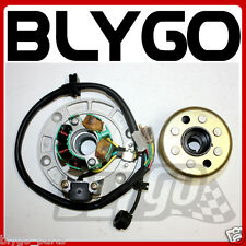 Magneto Stator Plate + Flywheel Roller ZS 155cc 160cc PIT PRO Trail Dirt Bike