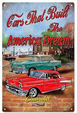 American Dream Chevrolet Hot Rod Sign