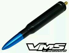 Black Bullet Antenna with Blue Tip for Your Ford F150 Blue Flame Raptor SVT