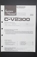 PIONEER C-V2300 Originale Manuale di Servizio/Istruzioni/Schema elettrico! o40