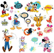 Disney MICKEY MOUSE Minnie Wall Stickers 27 decals decor Clubhouse Pluto Goofy +