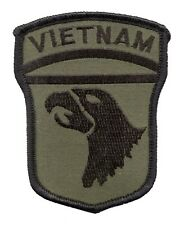 Remake patch for 101st Airborne Division in Vietnam L258