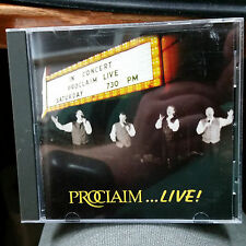 Proclaim LIVE CD in Concert River Raisin Centre for the Arts Monroe Michigan
