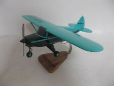 Piper PA-22 Tri-Pacer Tripacer Airplane Desktop Wood Model