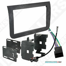 95-6523 CAR STEREO DOUBLE/2/D-DIN RADIO INSTALL DASH KIT W/ WIRES FOR PROMASTER