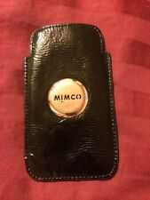 Mimco iphone 5 5S case Black Sleeve