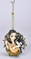 LUTE BY JASMINE BECKET-GRIFFITH. FAIRY ORNAMENT FIGURINE.LICENSED COLLECTIBLE