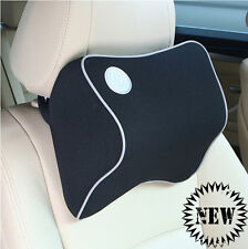 Space Memory Foam Neck Pillow Car Seat Headrest Support Covers Cushion Comfort