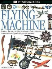 Eyewitness book: Flying Machine (Dorling Kindersley) Free shipping in USA