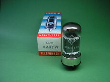 6080/6as7w telefunken tube (6as7 ecc230) valve nos - > tube amp