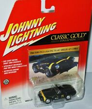 Classic Gold - 1966 Shelby Cobra 427 TERLINGUA RACING #71 1:64 Johnny Lightning
