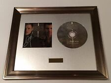 SIGNED/AUTOGRAPHED NICK CARTER & JORDAN KNIGHT CD PRESENTATION.BACKSTREET BOYS
