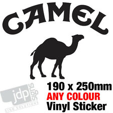 CAMEL STICKER DECAL CAR TRUCK 4X4 LAND ROVER JEEP – ANY COLOUR