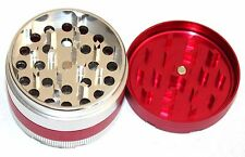 2 inches Metal Aluminum Herb Spice Grinder 4 Piece with Screen crusher