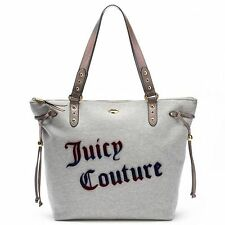 NWT Juicy Couture Logo Sport XL Tote Handbag Size: 13.25''x 18.25'' Heather Gray
