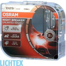 2x OSRAM d2s 66240xnb NIGHT BREAKER UNLIMITED XENARC lampadine allo xeno Duo Pack BF