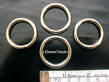 Metal Ring, Welded, 25mm/1inch, Heavy, Four