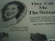 film item 1950 article call me the scream elsa lanchester