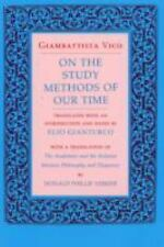 On the Study Methods of Our Time by Giambattista Vico (1990, Paperback, Reprint)