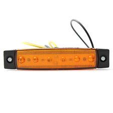 LED Side Light Marker Indicators Lights for Truck Trailer Lorry 12V Orange Amber