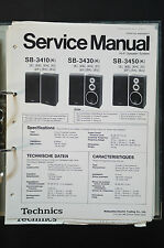 TECHNICS sb-3410/sb-3430/sb-3450 ORIGINALE SPEAKER Service-Manual/Service-INFO!!!