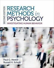 NEW - Research Methods in Psychology: Investigating Human Behavior