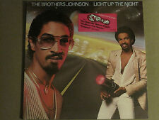 THE BROTHERS JOHNSON LIGHT UP THE NIGHT LP ORIG '80 SYNTH FUNK DISCO SEALED!