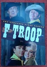 F Troop: The Complete First Season 1 One DVD Boxed Set - used - FREE SHIPPING