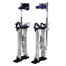 Silver 24-40 Inch Drywall Stilts Aluminum Tool Stilt For Painting Painter T