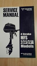 TOHATSU MFS2 MFS2.5 MFS3.5A SERVICE MANUAL OUTBOARDS AUSSENBORDER