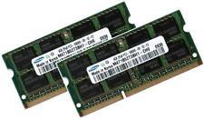 2x 4gb 8gb ddr3 1333 RAM PER TOSHIBA SATELLITE c660d-15k Samsung pc3-10600s