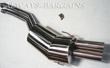 Manzo Stainless Steel Catback Exhaust Muffler BMW E36 92-98 325i 328i 2.5L 2.8L