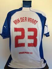 Hamburg SV VAN DER VAART 05/06 Home Football Shirt (XL) Soccer Jersey