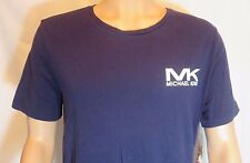 Men's MICHAEL KORS M MEDIUM 38-40 Night BLUE Sleepwear Cotton T-shirt 102545