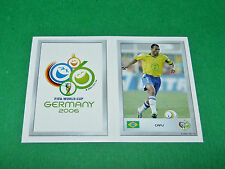 N°1 EMBLEME 93 CAFU BRESIL PANINI FOOTBALL GERMANY 2006 MINI-STICKERS