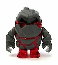 LEGO Power Miners Minifigure Rock Monster (Red ~ NEW)