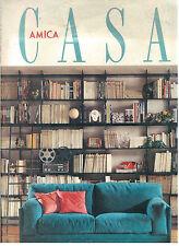 CASA AMICA N. 2 FEBBRAIO 1990 RIVISTA VINTAGE ARREDAMENTO ARCHITETTURA DESIGN