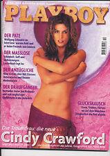 PLAYBOY-OKTOBER 1998-TRAUMFRAU : CINDY CRAWFORD-SEXY-TOP--EROTISCHE BILDER-10/98