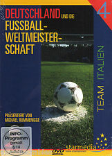 Dvd Germany And The Football World Cup Team Italy New In Box