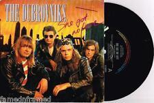 """THE DUBROVNIKS - SHE GOT NO LOVE - RARE 7"""" 45 PROMO RECORD w PICT SLV - 1990"""