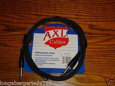"10' GUITAR CABLES 1/4"" INSTRUMENT PATCH CORD CABLE BASS ELECTRIC ACOOUSTIC PEDAL"