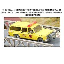 "N SCALE: CHEVROLET ""FIRE CHIEF'S VEHICLE"" - GHQ KIT #51014"