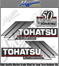 TOHATSU - 50hp AUTOMIXING - OUTBOARD DECALS
