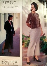 NEW 2004 'LOES HINSE DESIGN'  BOOT SKIRT SEWING PATTERN 5009 ALL SIZES