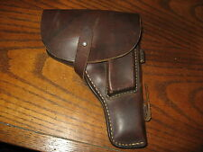 Chinese military leather Tokarev holster TT-33 7.62x25 hangers