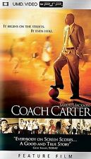Coach Carter UMD PSP COMPLETE MOVIE SONY PLAYSTATION PORTABLE
